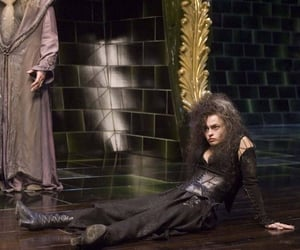harry potter, bellatrix, and bellatrix lestrange image