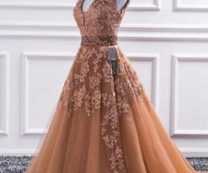 evening gowns, dress, and gowns image