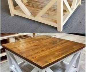 wooden pallet, pallet ideas, and pallet furniture image