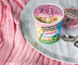 cream, food, and ice cream image