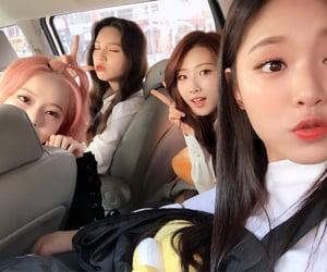 icon, kim hyunjin, and jeon heejin image