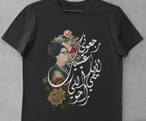 aesthetic, tshirt, and arabic image