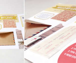 crafts, diy, and Letter image