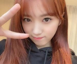 kpop, orange, and izone image