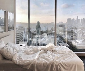 view, bedroom, and home image