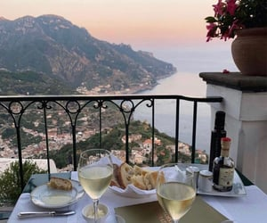 italy, view, and wine image