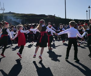 culture, celtic, and dance image