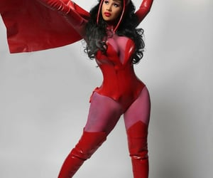 scarlet witch and cardi b image
