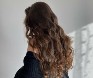 brown, fashion, and curls image