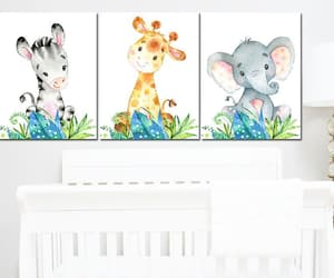 giraffe wall decor, etsy, and girl nursery decor image
