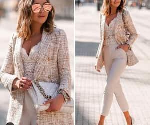 blazer, neutral, and street styles image