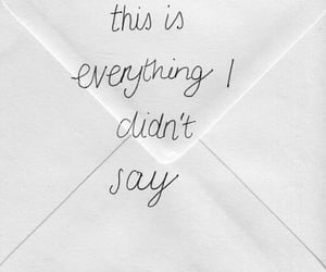 quotes, everything, and Letter image