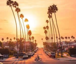 california, light, and mood image