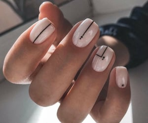 baby girl, nails, and weheartit image