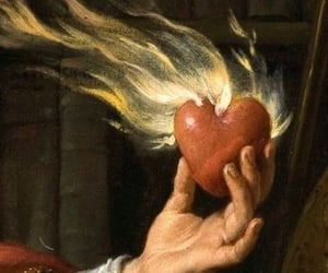 burning, heartbroken, and in your hands image
