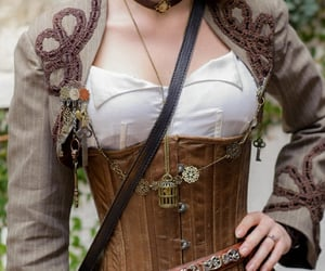 bodice, costume, and handcrafted image