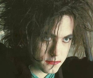 emo, goth, and make up image