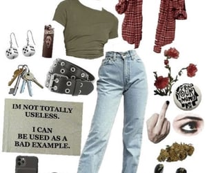 alternative, edgy, and flannel image