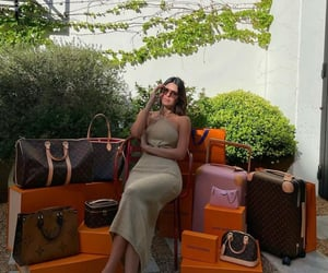 Balenciaga, fashion, and girl image