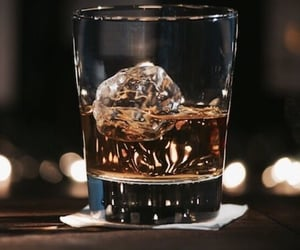 aesthetic, whisky, and drink image