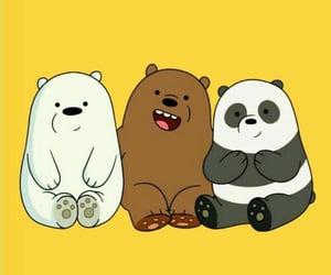 wallpaper, bear, and we bare bears image