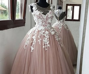 dresses, evening gown, and fashion image
