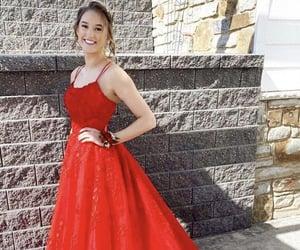 beauty, grad dress, and backless prom dress image
