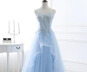 beauty, grad dress, and lace prom dresses image