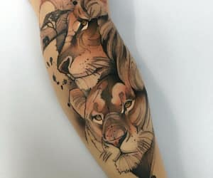 africa, art, and tattoo image