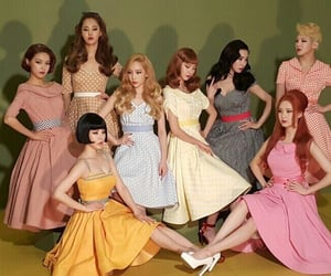 50s, snsd, and tiffany image