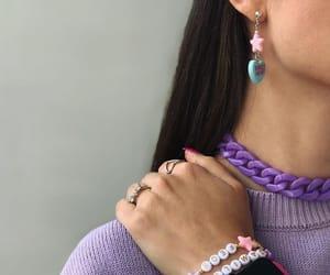 bracelets, choker, and italian image