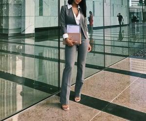 fashion, lady, and businesswoman image