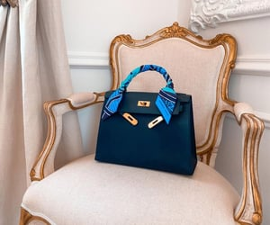 beautiful, blue, and chic image