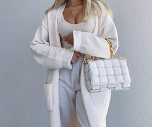 bag, outfit, and white image