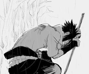 fanart, anime boy, and uchiha sasuke image
