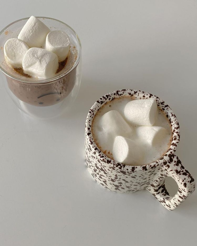 aesthetic, food, and marshmallow image