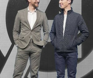 tom hiddleston and benedict cumberbatch image
