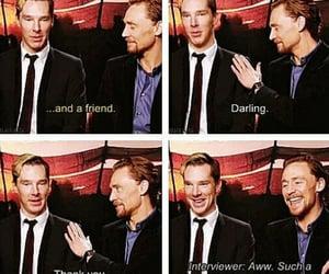 darling, bromance, and tom hiddleston image