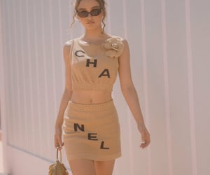 chanel, fashion, and lily rose depp image