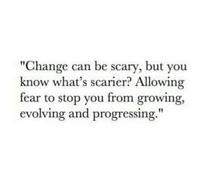 change, progress, and quote image