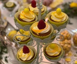 cupcake, baking, and FRUiTS image