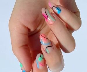 design, fashion, and acrylic nails image
