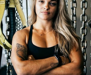 beautiful, fitness, and strong image