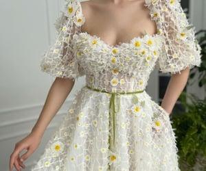 daisy, dress, and fairy image