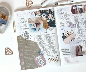 journal, journaling, and stationery image