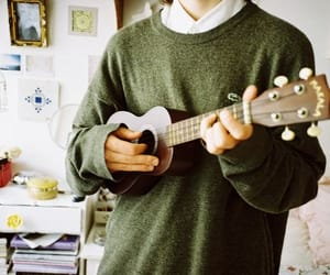 ukulele, music, and boy image