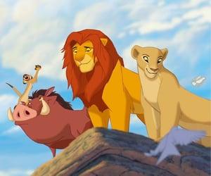 simba, the lion king, and timon image
