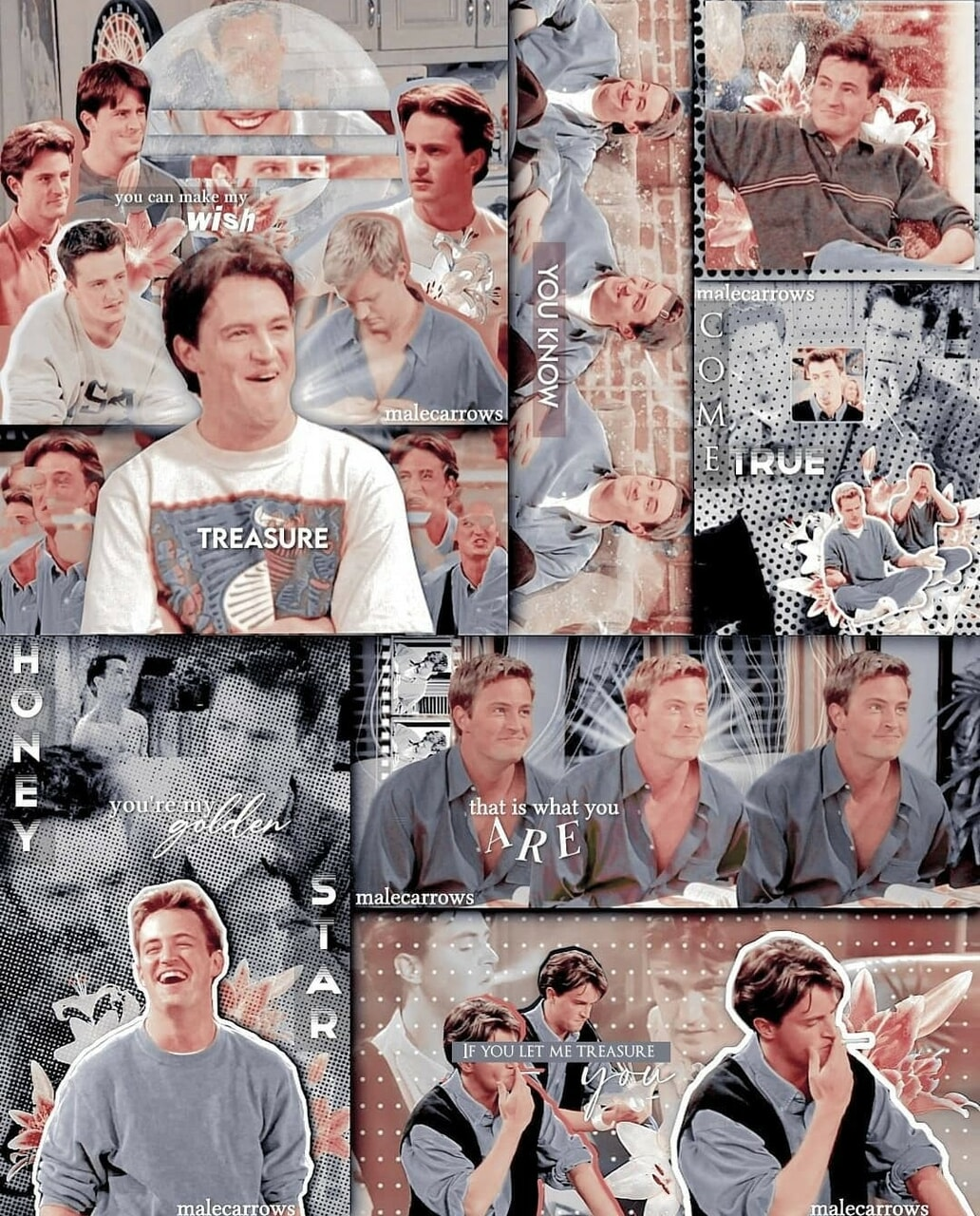 aesthetic, f.r.i.e.n.d.s, and chandler bing image