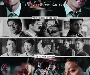 dean winchester, fandom, and series image