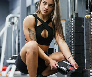beautiful, fitness, and lifting image